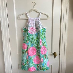 Lilly Pulitzer Pearl Shift Dress Going Stag